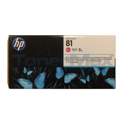 HP DESIGNJET 5000 NO 81 DYE PRINTHEAD & CLEANER MAGENTA